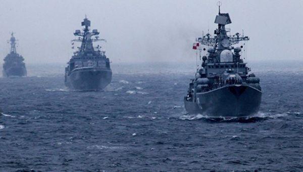 Корабли Тихоокеанского флота России. Архивное фото