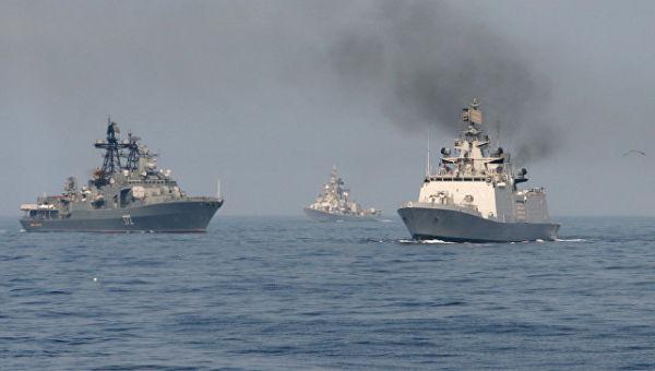 Корабли ВМФ России. Архивное фото