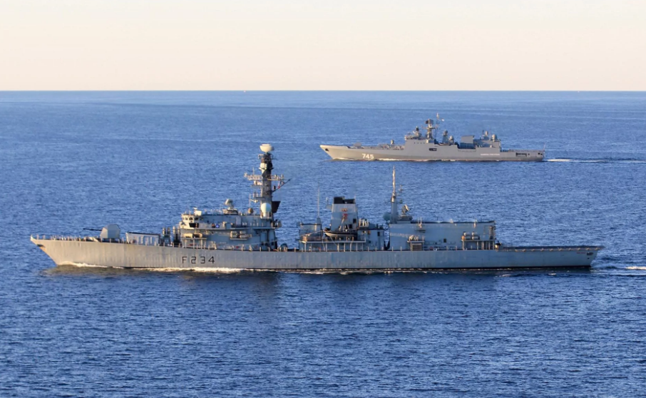 Корабли ВМС Великобритании.
