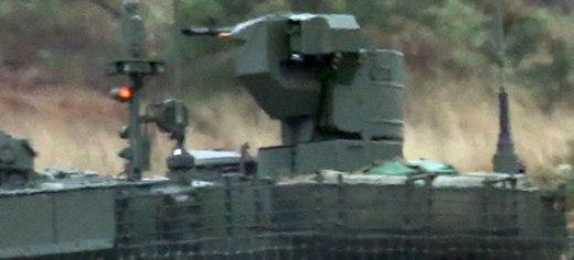 """12,7-мм пулемет """"Корд МТ"""" (6П49МТ) для БМ танка Т-90М."""