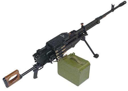 """Пулемет """"Корд"""" калибра 12,7 мм."""