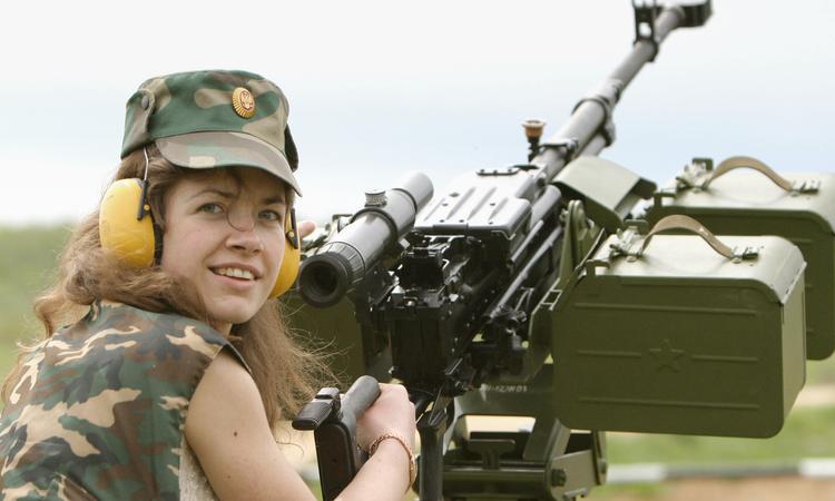 """Крупнокалиберный пулемет """"Корд""""."""