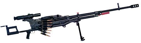 12,7 мм пулемет &quot;КОРД&quot; пехотный 6П57 на сошках 6Т19<br>http://www.zid.ru/.
