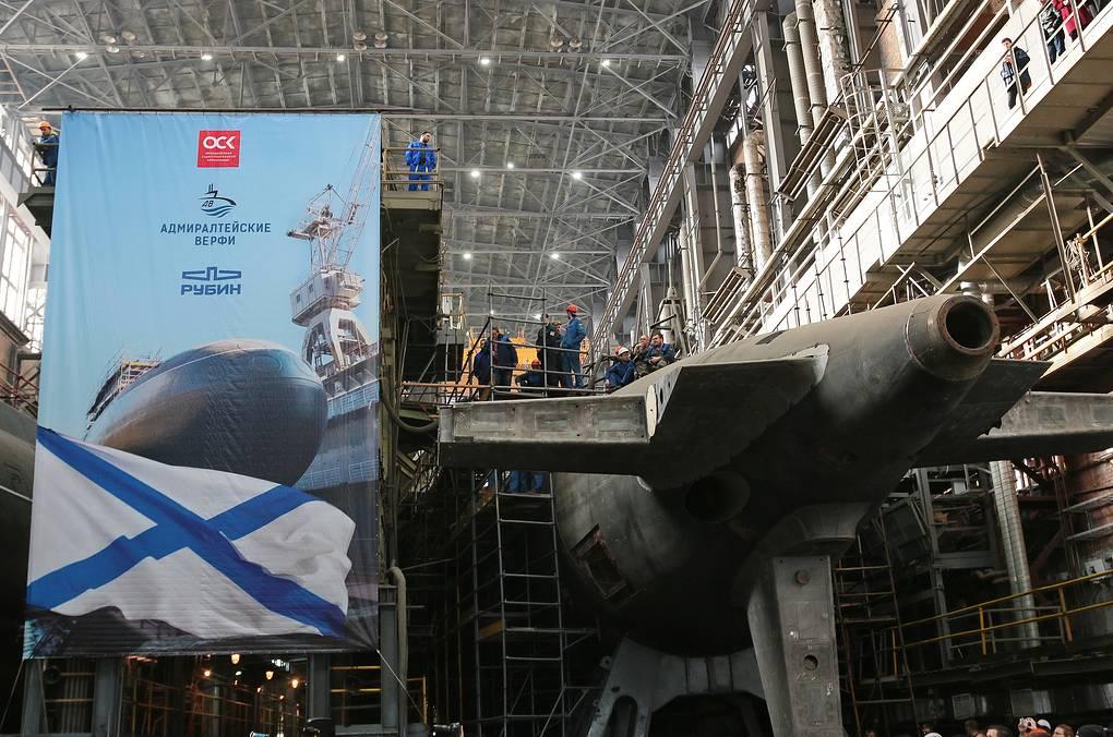 Шесть подлодок проекта 636.3, которые будут построены до 2024 года, поднимут боеготовность Тихоокеанского флота - главком ВМФ РФ