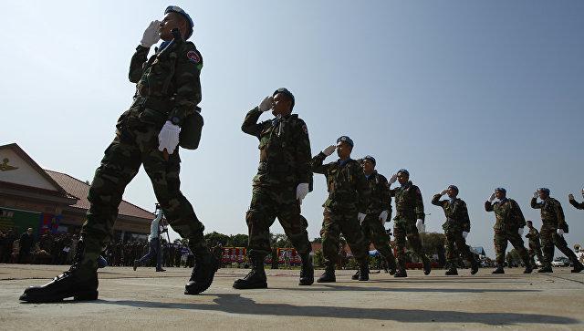 Королевские военно-воздушные силы Камбоджи. Архивное фото.
