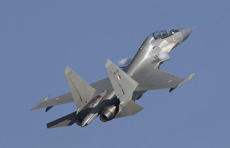 Су-30МК - Многоцелевой экспортный истребитель, созданный на базе Су-30