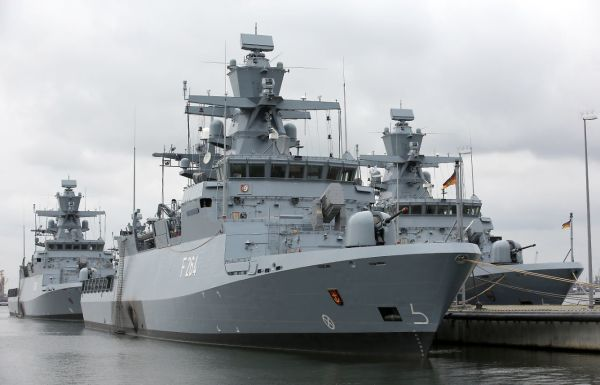 Корветы ВМС ФРГ проекта К130