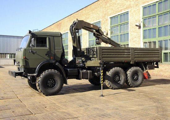 Кран-манипулятор военного назначения КМВ-10К
