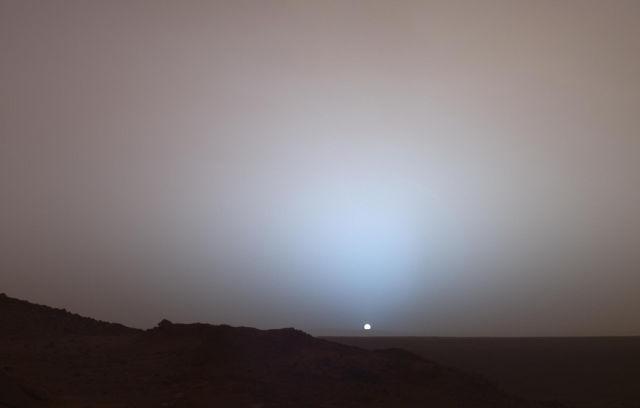 Кратер Гусев на Марсе