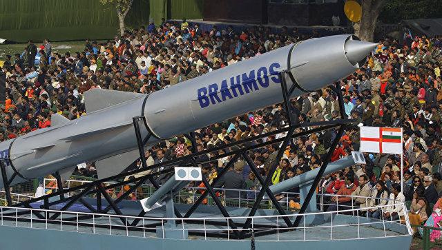 Крылатая ракета Брамос. Архивное фото.