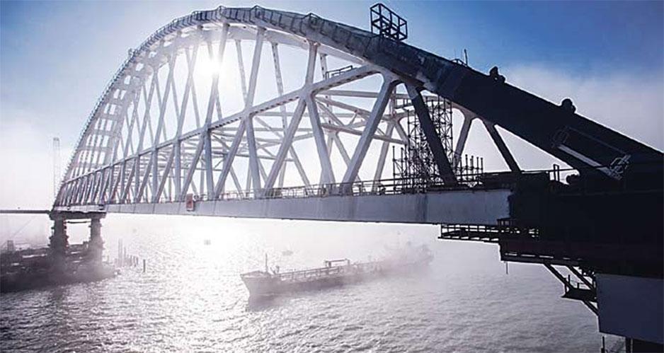 Крымский мост, Россия.