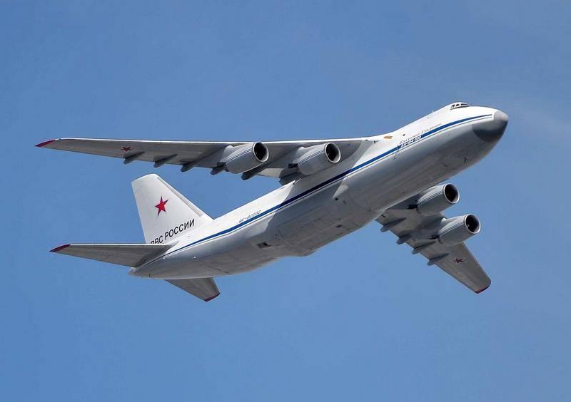 "Транспортный самолет Ан-124 ""Руслан""."