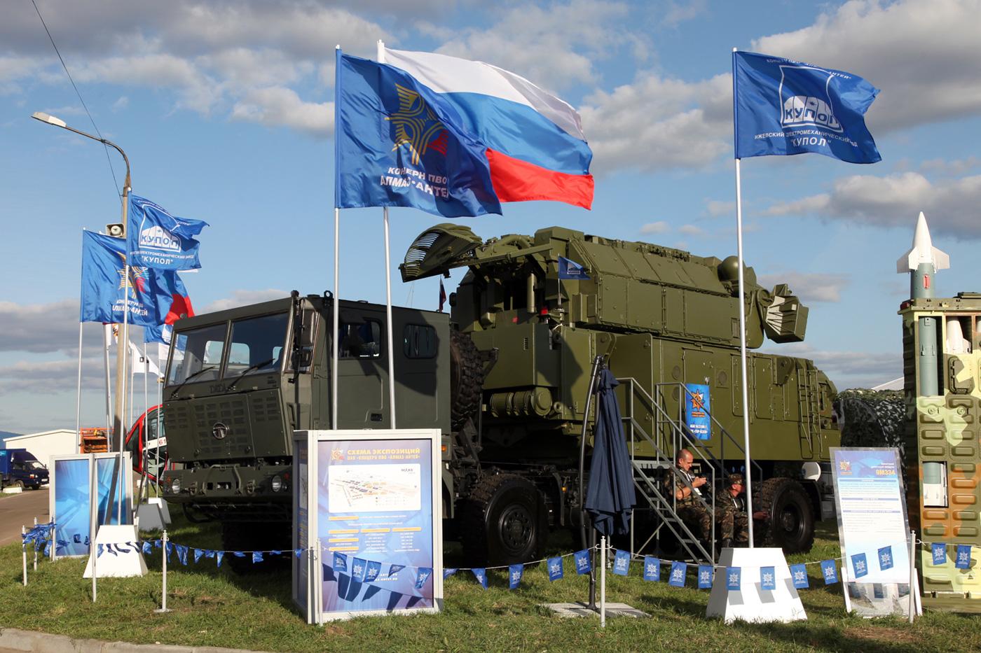 АО «Ижевский электромеханический завод «Купол» представит на «МАКС – 2015».натурные образцы новейшей техники ПВО.
