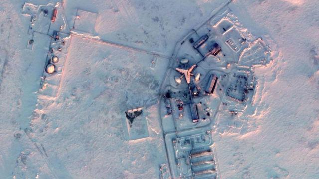 Военная база в Арктике