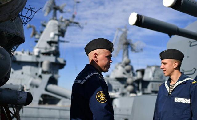 Курсанты ВМФ РФ