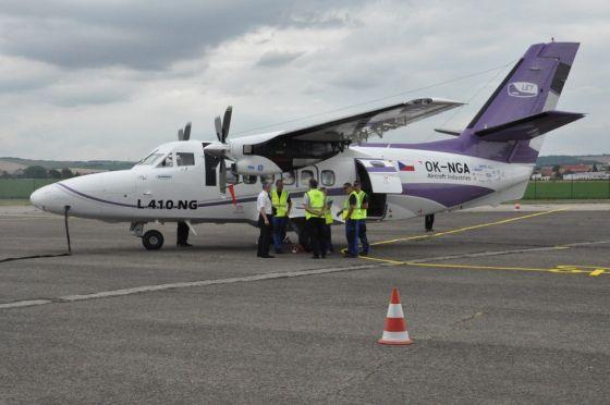 Самолет Aircraft Industries L-410NG