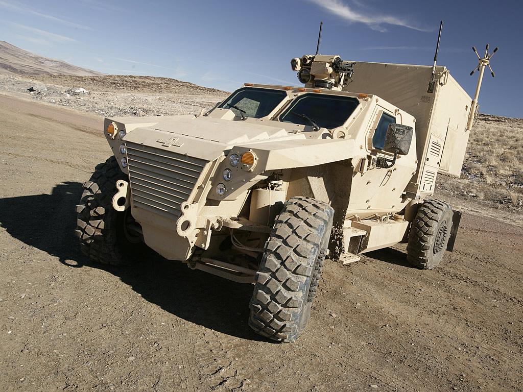 Легкая тактическая машина (JLTV) Oshkosh Defense