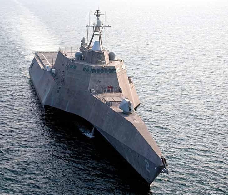 Корабль класса USS Independence (LCS-2).