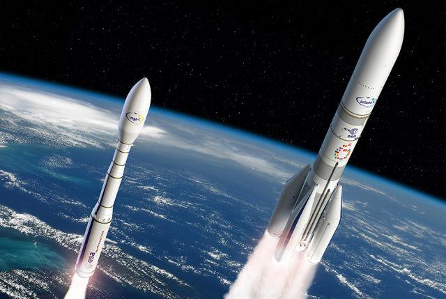 Легкая (Vega C) и тяжелая (Ariane 6) европейские ракеты