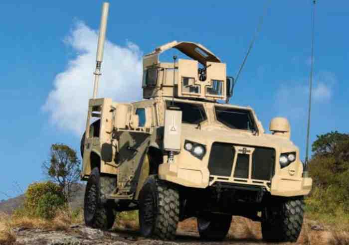 Легкая тактическая бронированная машина JLTV.