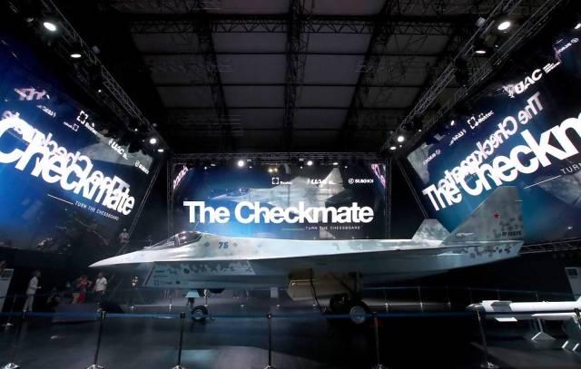 Легкий тактический однодвигательный истребитель Checkmate