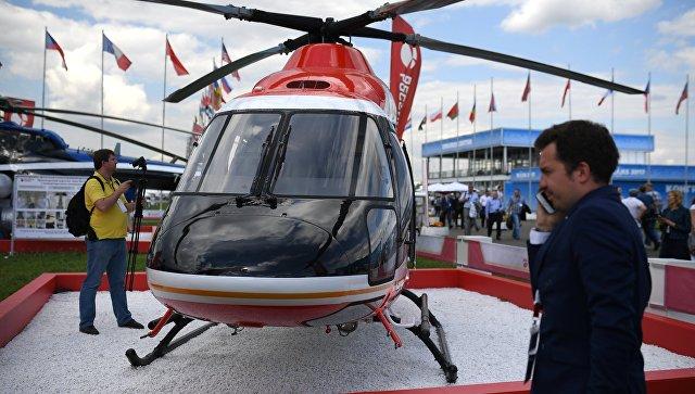 Легкий многоцелевой вертолет Ансат. Архивное фото.
