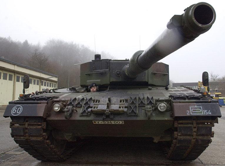 Немецкий танк «Леопард-2».