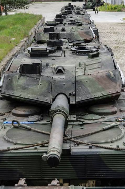 Танки Leopard 2A5
