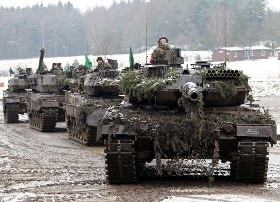 Танки Leopard 2A6
