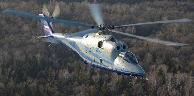 Летающая лаборатория перспективного скоростного вертолета