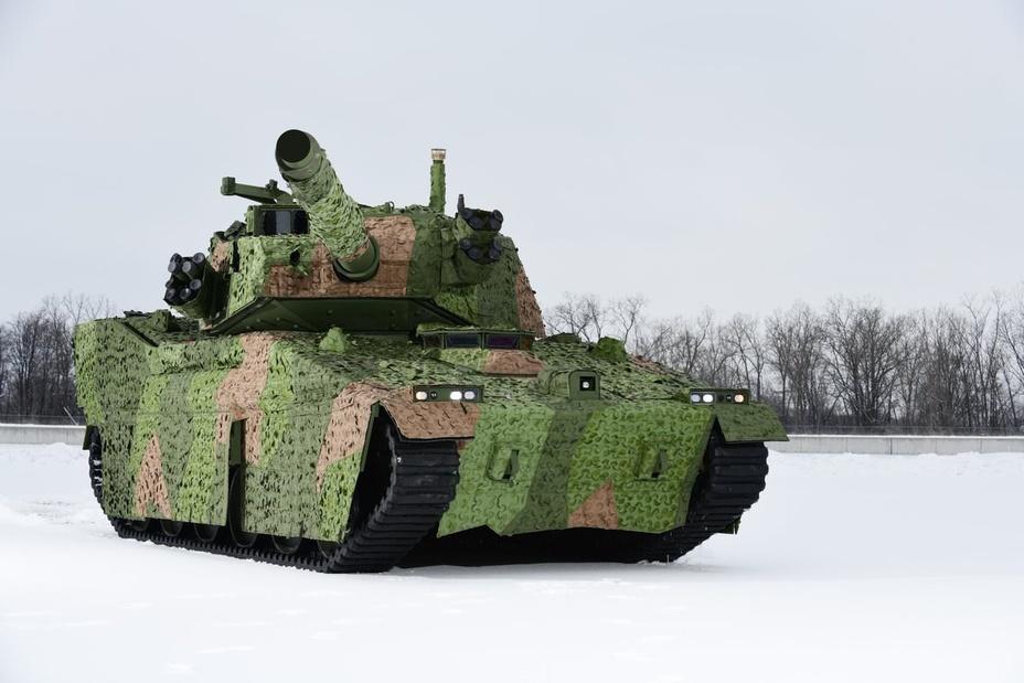 Лёгкий танк от BAE Systems.