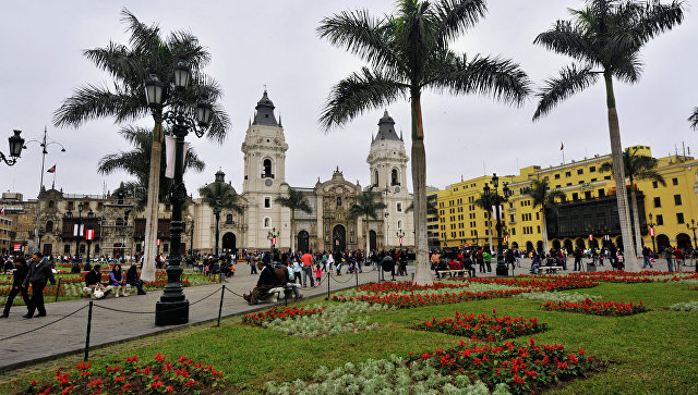 Лима. Перу.