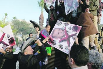 Ливийское общество недвусмысленно выражает свое отношение к действиям Эрдогана. Фото Reuters