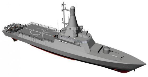 Корабль Littoral Mission Vessels (LMV)