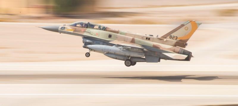 Lockheed Martin F-16I (Sufa) ВВС Израиля.