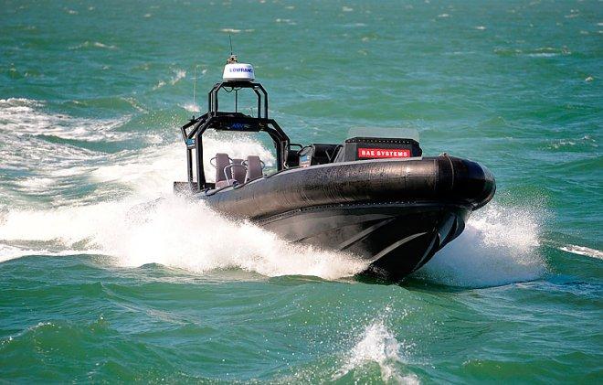 Беспилотный катер компании BAE Systems.