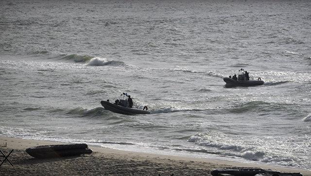 Лодки с морским десантом во время российско-белорусских учений Запад-2013. Архивное фото