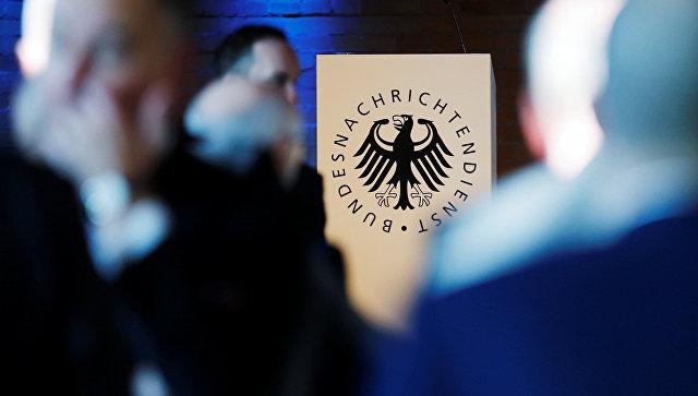 Логотип Федеральной разведывательной службы Германии (BND). Архивное фото.