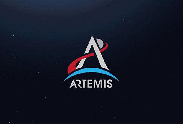 Логотип лунной программы Artemis