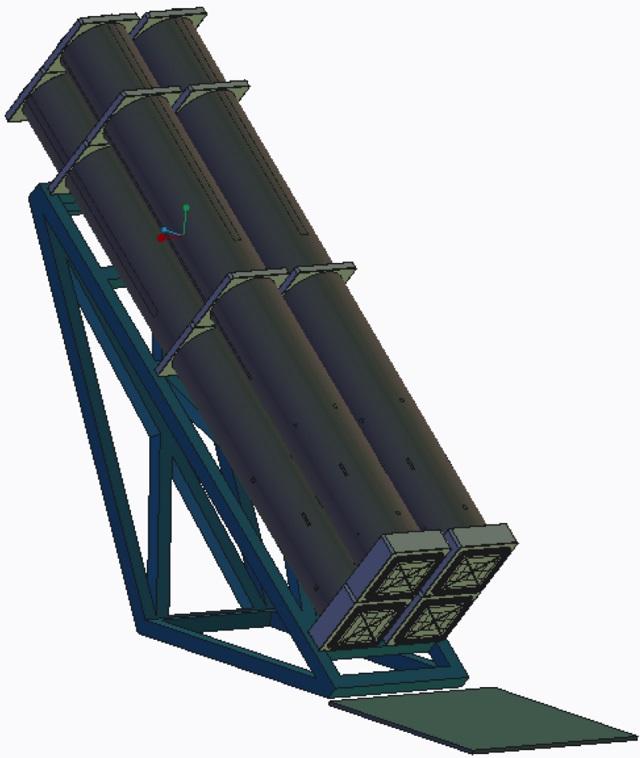 Первые изображения наклонной пусковой установки перспективной американской ПКР LRASM.