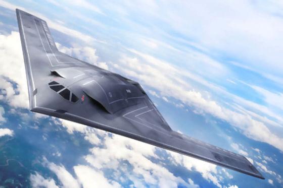 Рисунок бомбардировщика LRS-B