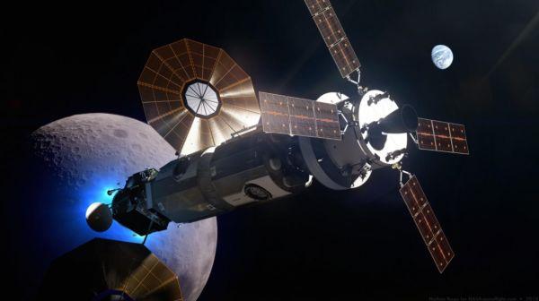 Лунная орбитальная станция Lunar Orbital Platform - Gateway (LOP-G)