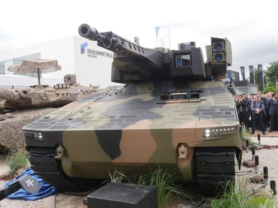 БМП Rheinmetall Lynx