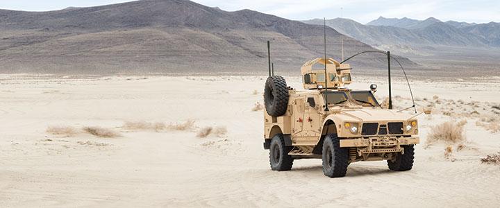 MRAP повышенной проходимости M-ATV Extended компании Oshkosh Defense.
