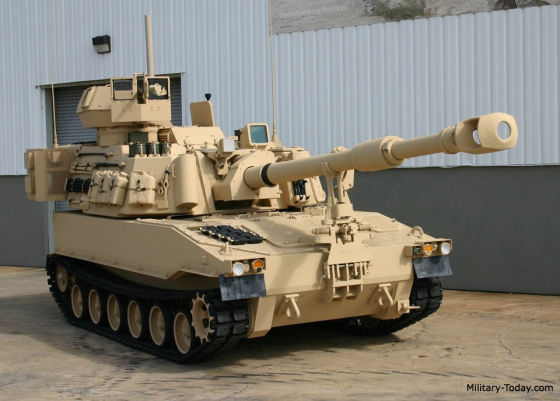 САУ M109A7