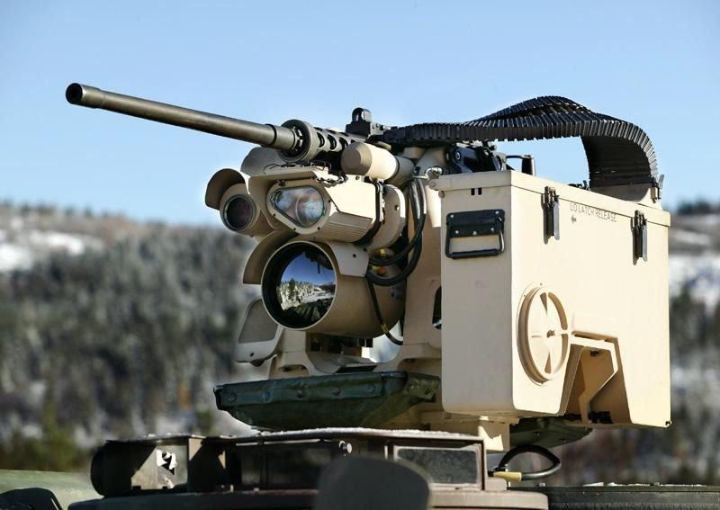 Боевой модуль M153 Protector (CROWS II) от компании Kongsberg.