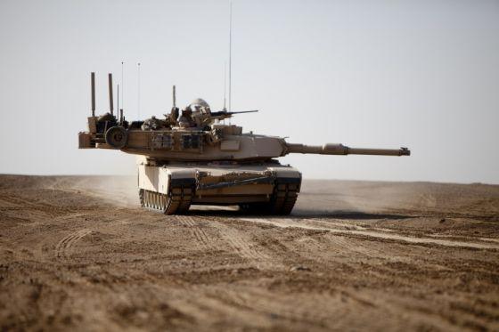 Американский танк M1A2