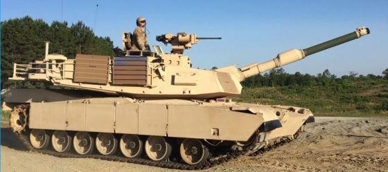 Танк M1A2