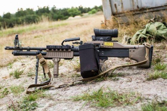 Пулемет M60E6