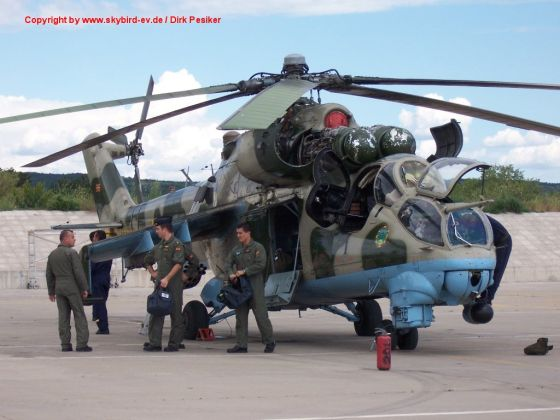 Вертолет Ми-24В
